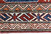 Kazak Red Runner Hand Knotted 26 X 105  Area Rug 250-27799 Thumb 2