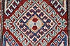 Kazak Red Runner Hand Knotted 26 X 105  Area Rug 250-27799 Thumb 3