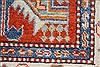 Kazak Blue Runner Hand Knotted 28 X 101  Area Rug 250-27800 Thumb 6