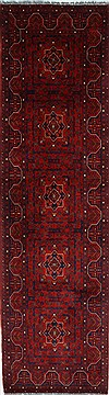 "Shahre Babak Blue Runner Hand Knotted 2'7"" X 9'6""  Area Rug 250-27804"