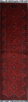 "Shahre Babak Blue Runner Hand Knotted 2'8"" X 9'7""  Area Rug 250-27806"