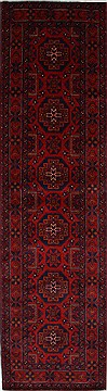 "Shahre Babak Blue Runner Hand Knotted 2'7"" X 9'9""  Area Rug 250-27808"