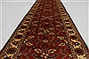 Turkman Blue Runner Hand Knotted 29 X 99  Area Rug 250-27821 Thumb 2