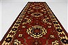 Kazak Red Runner Hand Knotted 210 X 92  Area Rug 250-27838 Thumb 1