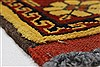 Turkman Brown Runner Hand Knotted 28 X 105  Area Rug 250-27843 Thumb 5