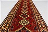Kazak Red Runner Hand Knotted 28 X 93  Area Rug 250-27846 Thumb 2