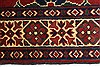Kazak Red Runner Hand Knotted 27 X 105  Area Rug 250-27848 Thumb 2
