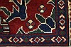Kazak Red Runner Hand Knotted 27 X 105  Area Rug 250-27848 Thumb 7