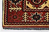 Turkman Blue Runner Hand Knotted 29 X 103  Area Rug 250-27860 Thumb 4