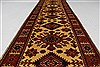 Turkman Blue Runner Hand Knotted 29 X 103  Area Rug 250-27860 Thumb 9