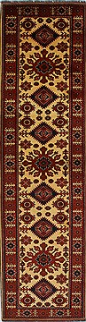 "Turkman Blue Runner Hand Knotted 2'9"" X 10'3""  Area Rug 250-27860"