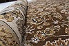 Kashan Beige Hand Knotted 40 X 62  Area Rug 250-27865 Thumb 11