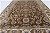 Kashan Beige Hand Knotted 40 X 62  Area Rug 250-27865 Thumb 2