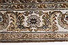 Kashan Beige Hand Knotted 40 X 62  Area Rug 250-27865 Thumb 3