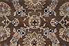 Kashan Beige Hand Knotted 40 X 62  Area Rug 250-27865 Thumb 4