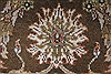 Kashan Beige Hand Knotted 40 X 62  Area Rug 250-27865 Thumb 7