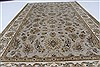 Kashan Beige Hand Knotted 41 X 64  Area Rug 250-27866 Thumb 5