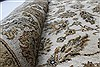 Kashan Beige Hand Knotted 41 X 54  Area Rug 250-27867 Thumb 11