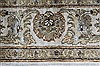 Kashan Beige Hand Knotted 41 X 54  Area Rug 250-27867 Thumb 3