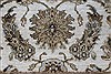 Kashan Beige Hand Knotted 41 X 54  Area Rug 250-27867 Thumb 4