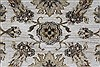 Kashan Beige Hand Knotted 41 X 54  Area Rug 250-27867 Thumb 5