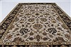 Kashan Beige Hand Knotted 41 X 60  Area Rug 250-27868 Thumb 5