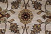 Kashan Beige Hand Knotted 41 X 60  Area Rug 250-27868 Thumb 7