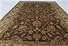 Kashan Brown Hand Knotted 41 X 63  Area Rug 250-27869 Thumb 4