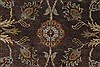 Kashan Brown Hand Knotted 41 X 63  Area Rug 250-27869 Thumb 7