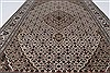Mahal Beige Hand Knotted 41 X 61  Area Rug 250-27871 Thumb 5