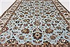 Tabriz Beige Hand Knotted 42 X 60  Area Rug 250-27872 Thumb 2