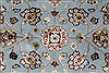 Tabriz Beige Hand Knotted 42 X 60  Area Rug 250-27872 Thumb 4