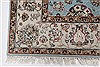 Tabriz Beige Hand Knotted 42 X 60  Area Rug 250-27872 Thumb 5