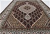 Mahal Beige Hand Knotted 40 X 60  Area Rug 250-27873 Thumb 4
