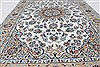 Nain Blue Hand Knotted 41 X 62  Area Rug 250-27876 Thumb 3