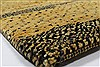 Gabbeh Yellow Hand Knotted 40 X 60  Area Rug 100-27889 Thumb 4