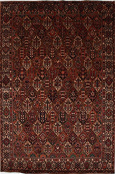 "Bakhtiar Beige Hand Knotted 6'7"" X 10'0""  Area Rug 100-27894"
