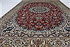 Nain Blue Hand Knotted 66 X 98  Area Rug 100-27899 Thumb 6