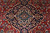 Kashan Red Hand Knotted 87 X 114  Area Rug 100-27943 Thumb 21