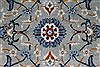 Tabriz Blue Hand Knotted 58 X 96  Area Rug 100-27956 Thumb 8