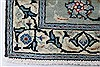 Tabriz Blue Hand Knotted 58 X 96  Area Rug 100-27956 Thumb 9
