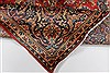 Kashan Red Hand Knotted 64 X 95  Area Rug 100-27957 Thumb 14