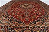 Kashan Red Hand Knotted 64 X 95  Area Rug 100-27957 Thumb 2