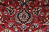 Kashan Red Hand Knotted 64 X 95  Area Rug 100-27957 Thumb 4