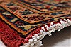 Kashan Red Hand Knotted 64 X 95  Area Rug 100-27957 Thumb 9