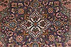 Tabriz Beige Hand Knotted 66 X 95  Area Rug 100-27962 Thumb 18