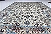 Nain Blue Hand Knotted 68 X 101  Area Rug 100-27966 Thumb 4