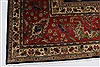 Tabriz Red Hand Knotted 98 X 129  Area Rug 100-27968 Thumb 10
