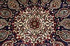Tabriz Blue Hand Knotted 98 X 128  Area Rug 100-27970 Thumb 7