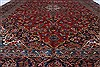 Kashan Red Hand Knotted 96 X 130  Area Rug 100-27977 Thumb 5
